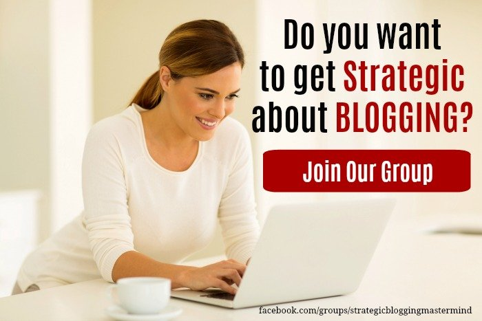 Join Our Free Strategic Blogging Facebook Group